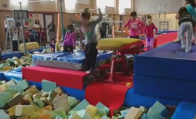 Fem gimnàstica esportiva al gimnàs de Vallparadís!