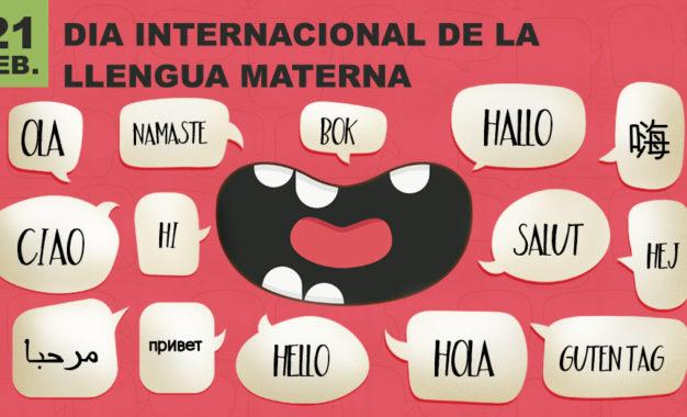 Dia internacional de les llengües maternes- 21 de febrer 2017