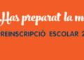 Preinscripció escolar curs 2016-2017