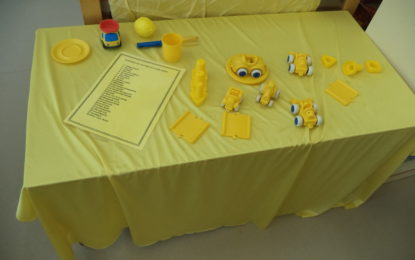 A p-3 juguen amb el color groc