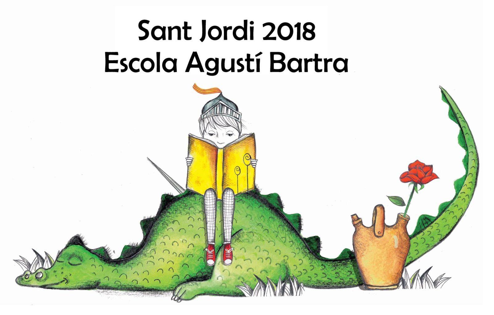 Decoració de Sant Jordi 2018