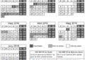 Calendari escolar del curs 2018-2019