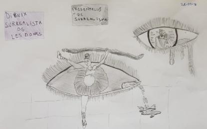 Les classes de 5è participen al projecte Cadàvers Exquisits