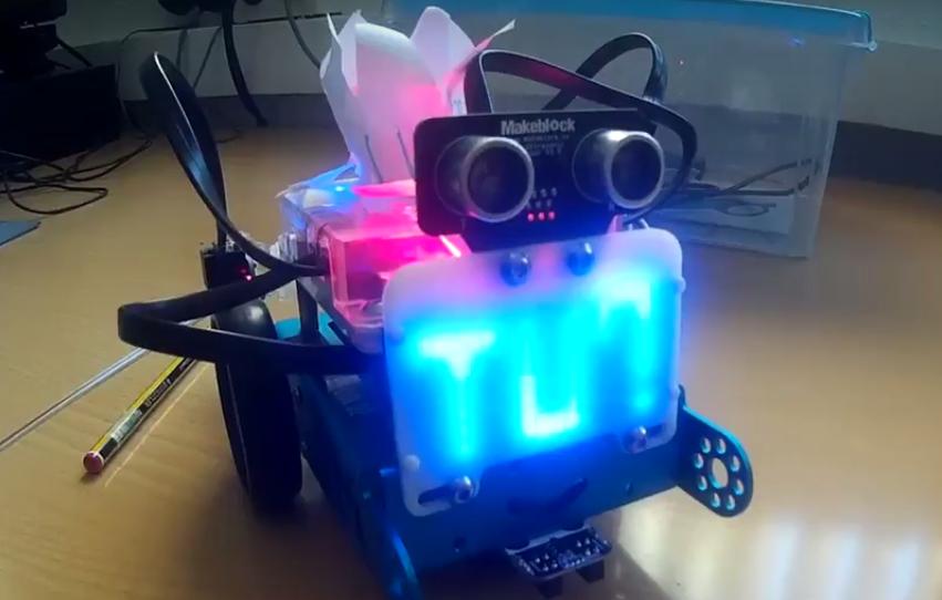 Taller de robòtica a cicle superior