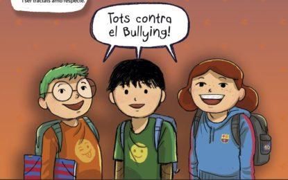 Tallers de la Fundació Futbol Club Barcelona a l'escola