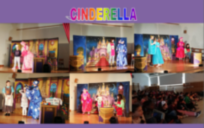 Cinderella. Theatre play