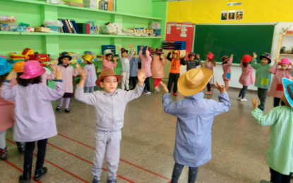 Carnestoltes a l'aula de música d'infantil