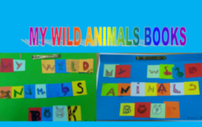 Wild animals book