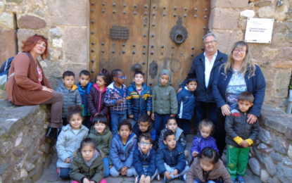 Visita al Castell Cartoixa de Vallparadís de P-4