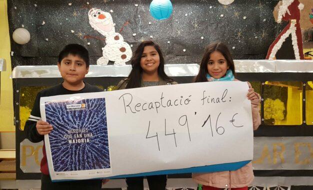 L'escola Agustí Bartra amb la Marató de TV3