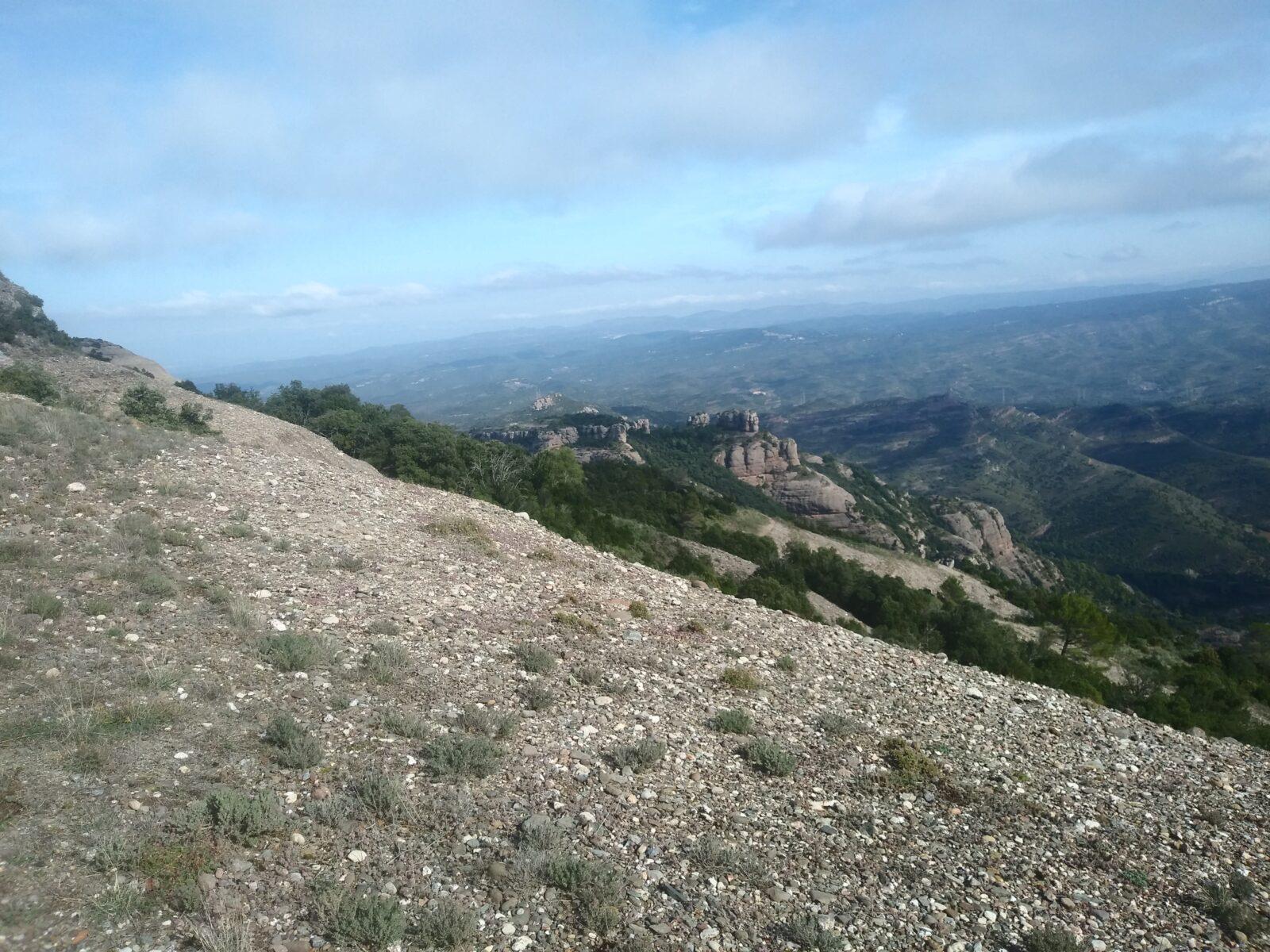 La sortida del Montcau