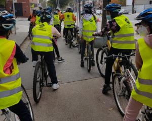 Amb bici a l'escola Biciclot