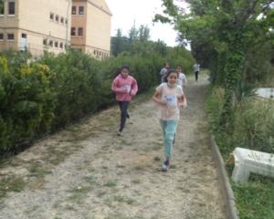 Cros de l'escola Agustí Bartra a les pistes de Can Jofresa. Quart, cinquè i sisè