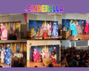 Cinderella. Theatre play