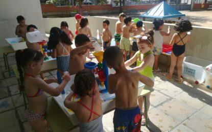 JOCS D'AIGUA A EDUCACIÓ INFANTIL