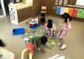 La primera setmana dels més petits i petites de l'escola